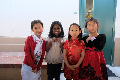 9 Claire Lai, Shaaradha Arumughan, Juliette Tang and Jenny Peng
