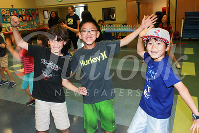 Carver Students Jump for a Zumba Party