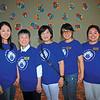 Lucy Doong, Jean Liu, Wanda Wang, Brenda Chen and Emma Huang