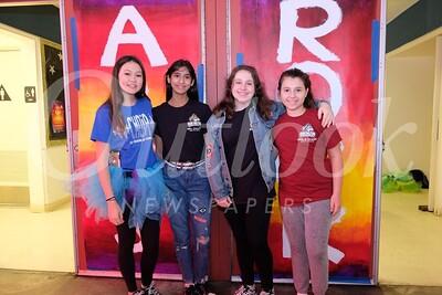 17 Ray Bear, Irikaa Mehrotra, Gracie Modean and Athena Stamus