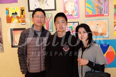 24 Sean and Jeffrey Li with Emily Su