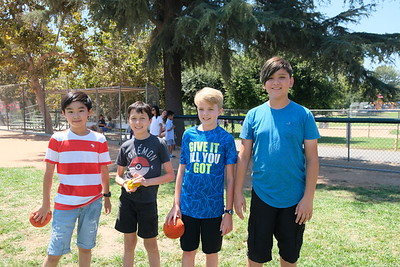 12 Austin Yang, Tommy Sattertawaite, Henry McBryde and Xander Wang