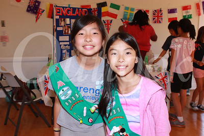 Girl Scouts Participate in World Thinking Day