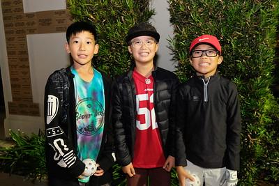 4 Peter Chan, Mason Pucan and Max Shen