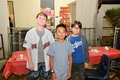 3 Nathaniel Eberwein, Renzo Rosell and Aaden Tung