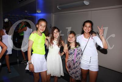 0747 Gianna Karkafi, Maddy Gregg, Jordane Oghigian and Maliya Kamal