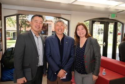 Alan Chen, Isaac Hung and Ginny Hsiao