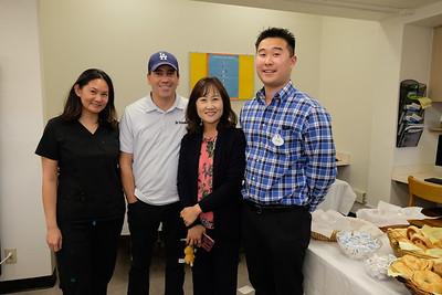 Dr. Connie Cheng, Matt Morris, Seong Oh and Ryan Lee