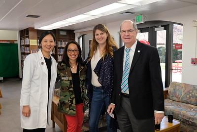 Dr. Grace Huang, Nancy Ko, Katie John and Chris Norgaard