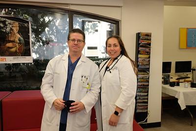 Dr. Roger Satterthwaite and Dr. Elizabeth dos Santos Chen
