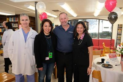 Dr. Steven Battaglia, Luyi Khasi, Peter Gertmenian and Dr. Connie Cheng