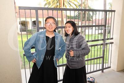 15 Chloe Shi and Rain Wang