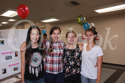 0623 Jocelyn Tang, Emma Wolfrank, Christianna Rassmussen and Kate Metcalfe