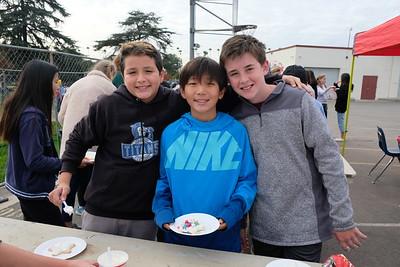 4 Santiago Monroy, Ryan Lee and Rowan Burke