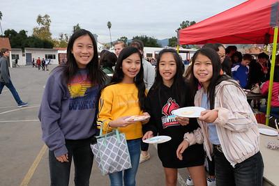 7 Keidyn Liu, Chloe Ta, Mia Lin and Bailey Mena