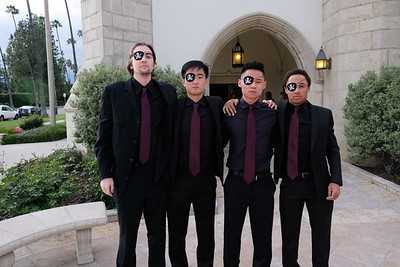 15 Niko Avetisian, Victor Fuan, Jacob Leftwich and Sean Richardson