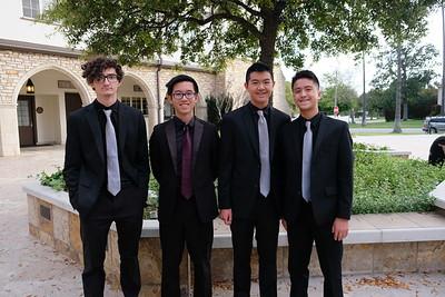 4 Holden Kenney, Justin Chen, Derek Chan and Jaylin Hsu