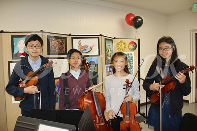 Members of HMS Chamber Orchestra