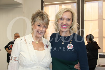 Robbin Nordsten and PTA President Laurie Modean