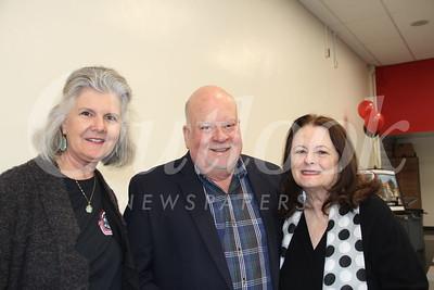 Alana Fauré, Gary McGuigan and Dana Marevich