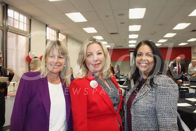 Lisa Link, Gretchen Shepherd Romey and Christina Pink