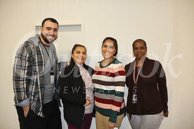Anthony Battaglia, Mabel Ramos, Erika Carrillo and Juanita Davis