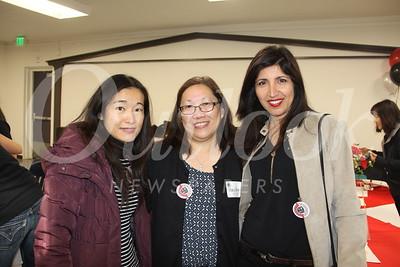 Tiffany Kao, Mary Wong and Homeira Asghari