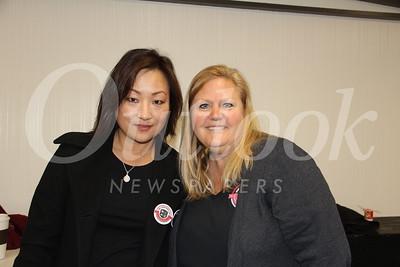 Angela Sze and Debi Cribbs