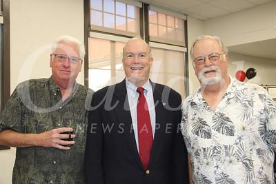 Rich Bjerrum, Mayor Steve Talt and Andy Steben