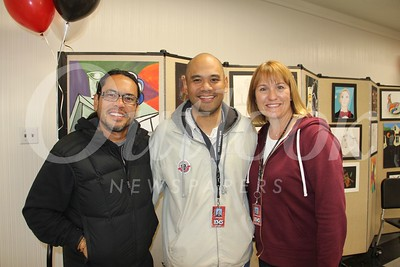 Shawn Gonzales, Neil Almoite and Laura McDonald