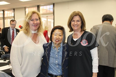 Susan McDonnell, Nam Jack and Sheila Doan