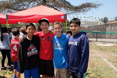 4 Ryan Wang, Luke Sedlacek, Brian Heckman and Rahwish Siddiqi