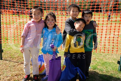 7 Jacob and Abby Doan with Mathieu, Caleb and William Luu