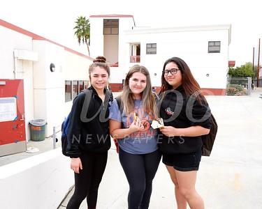 Clare Garcia, Tammy Venhuda and Kayla Cardenas