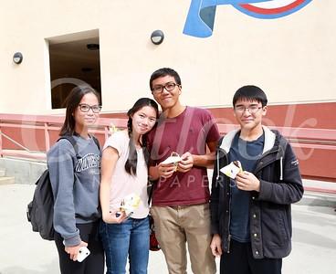 Megan Lien, Myline Lam, Keeby Tie and Garrett Kawaguchi