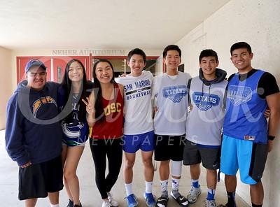 Tony Rodela, Alexa Wong, Stephanie Lee, Alex Chao, Johnny Dang, Ryan Lin and Will Dela Cruz