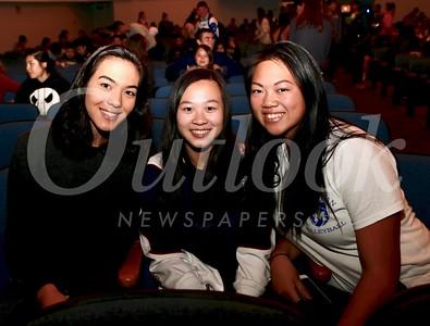 Tina McDaniel, Cheyenne Trac and Zoee Li