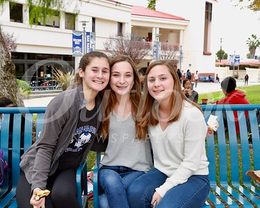 Halle Pedroza, Emily and Molly Hornberger