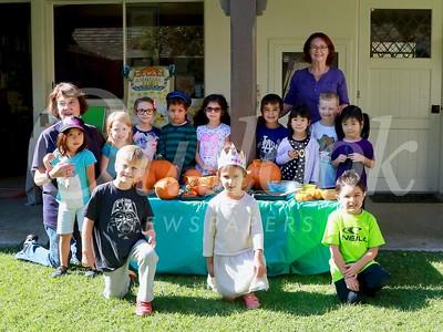Pumpkin Patch Play for SMCC Nursery School Tots