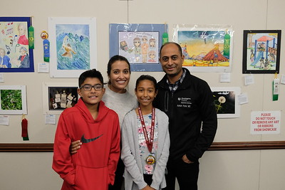 11 Dhilan, Zarana, Anya and Ash Patel
