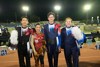 18 Jeremiah Oh, Victoria Quon Chow, Aidan Sund and Mackenzie Tully