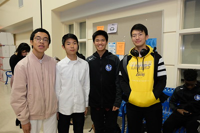 2 Donovan Phan, Andrew Sohn, Ethan Lien and George Zhao