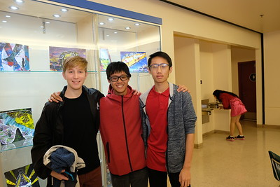 7 George Eittinger, Evan Chen and Ryan Chan