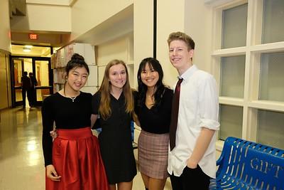1 Heein Kim, Annie Derrick, Kayla Chen and Logan Wing