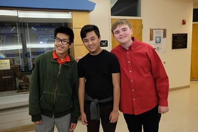 6 Joshua Chen, Aaron Im and Hunter Modean