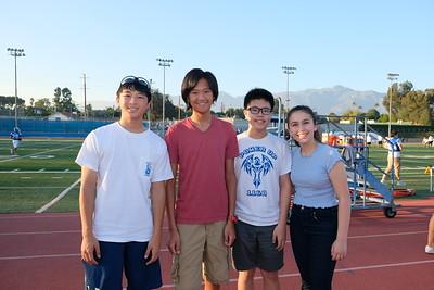 2 Jonathan Fong, Trystan Shen, Brian Chu and Olivia Cameron