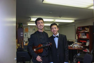 8720 Music Director Shota Horikawa and Collyn Li
