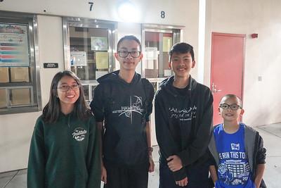 09114 Abby Pham, Tim Pham, Ryan Thaichareon and Ethan Pham