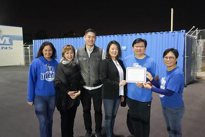 Connie Pham, Jenny Chiang, Young Chang, Jennifer Wi, David Wang and Emily Wong
