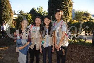 19 Fiona Mao, Olivia Hu, Celine Chih and Caroline Louie